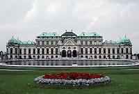 Vienna: Belvedere Palace (upper) 1721/22 by Johann Lukas Von Hildebrandt for Prince Eugene of Savoy. Photo '87.