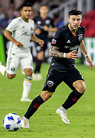 Washington, DC. - Wednesday, August 15, 2018: D.C United defeated the Portland Timbers 4-1 in a MLS match at Audi Field.