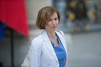 French Defence Minister Florence Parly leaves the Elysee presidential palace following the weekly cabinet meeting on Wednesday, 28 June 2017 in Paris # CONSEIL DES MINISTRES DU 28/06/2017