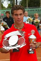13-8-06,Den Haag, Tennis Nationale Jeugdkampioenschappen, winnaar jongens 18 jaar, Peter Lucassen