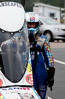 27th September 2020, Gainsville, Florida, USA;  Top Fuel driver Justin Ashley (1211) Strut Masters during the 51st annual Amalie Motor Oil NHRA Gatornationals
