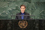 LOS general debate – 27 September<br /> <br /> PM<br /> <br /> Her Excellency Ana BRNABIC Prime Minister of the Republic of Serbia
