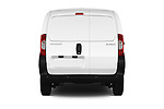 Straight rear view of a 2017 Peugeot Bipper Pro 3 Door Car van stock images
