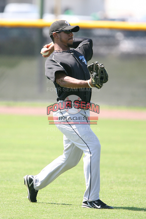 March 17th 2008:  Eric Eiland of the Toronto Blue Jays minor league system during Spring Training at Legends Field Complex in Tampa, FL.  Photo by:  Mike Janes/Four Seam Images