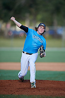 Coby Moe during the WWBA World Championship at the Roger Dean Complex on October 19, 2018 in Jupiter, Florida.  Coby Moe is a right handed pitcher from Glayslake, Illinois who attends Grayslake Central High School and is committed to Northwestern.  (Mike Janes/Four Seam Images)