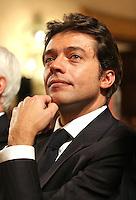 """Roma, 23/11/2006 Presentazione del nuovo libro di Bruno Vespa dal titolo. """"L'Italia spezzata"""". Nella foto Matteo Arpe AD di Capitalia. <br /> Photo Samantha Zucchi Inside (www.insidefoto.com)"""