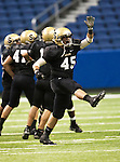 Dave Campbell's football classic between Uvalde Coyotes and Seguin Matadors at the Alamodome in San Antonio,Texas on 8-26-10