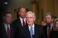 Senate Republican's policy luncheon press conference