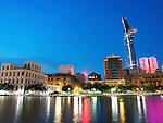 Bitexco Financial Centre across Tau Hu Channel, Ho Chi Minh City, Vietnam