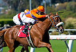 June 26, 2011: Malibu Pier and Brice Blanc win the Beverly Hills Handicap(GII) for trainer Carla Gaines and owner Spendthrift Farm at Hollywood Park, Inglewood, CA on June 26, 2011.