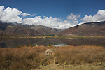 lake Huacarpay.lac Huacarpay dans la vallée sacrée des Incas