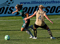 Saint Louis Athletica Elise Weber (12) during a WPS match at Anheuser-Busch Soccer Park, in St. Louis, MO, July 26, 2009.  The match ended in a 1-1 tie.