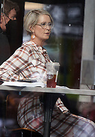 NEW YORK, NY - July 19: Cynthia Nixon on the set of the HBOMax Sex and the City reboot series And Just Like That on July 19, 2021 in New York City. <br /> CAP/MPI/RW<br /> ©RW/MPI/Capital Pictures