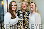 Kerrie McCarthy from Currow celebrating her 21st birthday in Bella Bia on Friday.<br /> Kerrie, Frances and Sinead McCarthy.