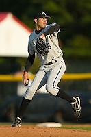Bristol starting pitcher Onarkys Paniagua (36) in action versus Burlington at Burlington Athletic Park in Burlington, NC, Thursday, July 12, 2007.