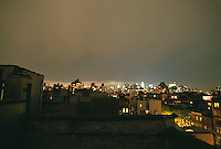 Downtown Manhattan from rooftop<br />