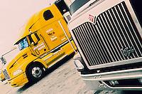"""Amérique/Amérique du Nord/USA/Etats-Unis/Vallée du Delaware/Pennsylvanie/Philadelphie : Le marché de gros - Détail des camions """"Trucks"""""""