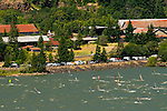 WIndsurfers on the Columbia River, Broughton Mill, Washington