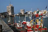 France/17/Charente Maritime/La Rochelle: Les tours du vieux port
