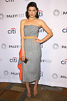 """HOLLYWOOD, LOS ANGELES, CA, USA - MARCH 21: Jessica Pare at the 2014 PaleyFest - """"Mad Men"""" held at Dolby Theatre on March 21, 2014 in Hollywood, Los Angeles, California, United States. (Photo by Celebrity Monitor)"""