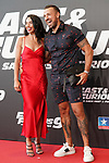 Rafa Mora and Macarena Millan during the photocall for the 'Fast & Furious 9' Madrid Premiere. June 17, 2021. (ALTERPHOTOS/Acero)