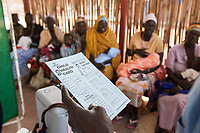 SOUTH SUDAN, Rumbek , Dinka tribe, health center , children vaccination and immunization / SUEDSUDAN Rumbek , Dinka Volksgruppe, Gesundheitsstation , Schutzimpfung und Immunisierung fuer Kinder