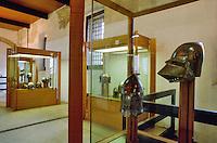 - museum of the ancient armors in the Brescia castle....- museo delle armi antiche nel castello di Brescia