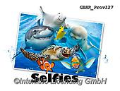 Howard, SELFIES, paintings+++++Ocean Selfie 2,GBHRPROV127,#Selfies#, EVERYDAY ,underwater,maritime,dolphins ,sharks,maritime
