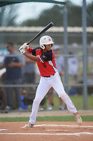 Damian Bravo (6) during the WWBA World Championship at Lee County Player Development Complex on October 10, 2020 in Fort Myers, Florida.  Damian Bravo, a resident of Haltom City, Texas who attends Haltom High School.  (Mike Janes/Four Seam Images)