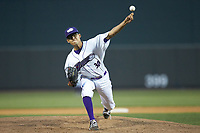 Winston-Salem Dash starting pitcher Bernardo Flores (30) in action against the Buies Creek Astros at BB&T Ballpark on May 5, 2018 in Winston-Salem, North Carolina. The Dash defeated the Astros 6-2. (Brian Westerholt/Four Seam Images)