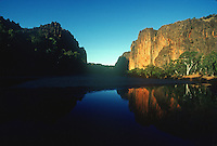 Windjana Gorge near Alice Springs Northern Territory Australia