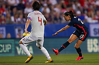 11th Mach 2020, Frisco, Texas, USA;  Christen Press of the USA scores the 2nd goal of the team during the 2020 SheBelieves Cup Womens International Friendly,  football match between USA Women versus Japan Women at Toyota Stadium in Frisco, Texas, USA.