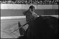 18 juin 1967. Vue de la corrida de De la Casa dans les arènes de Toulouse.