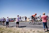 Michael Schär (SUI/CCC) going for the maximum KOM-points up the Côte de Rosières<br /> <br /> Stage 4: Reims to Nancy(215km)<br /> 106th Tour de France 2019 (2.UWT)<br /> <br /> ©kramon