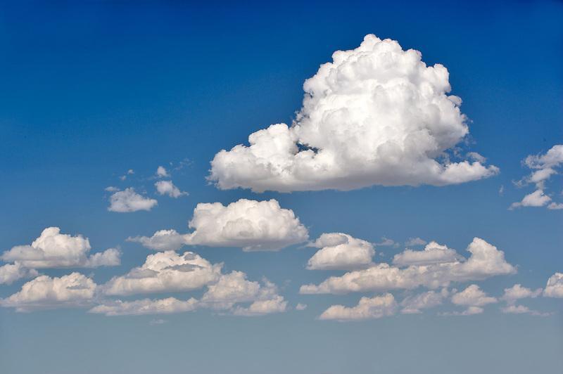 Clouds over Summer Lake. Oregon