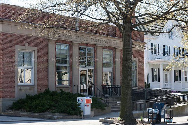 The main post office in Tarrytown, New York