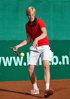 2013-08-13, Netherlands, Raalte,  TV Ramele, Tennis, NRTK 2013, National Ranking Tennis Champ,  Botic van de Zandschulp<br /> <br /> Photo: Henk Koster