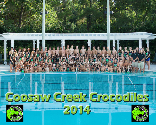 June 20, 2014<br /> <br /> Coosaw Creek Crocodiles swim team <br /> <br /> Photographer: Al Samuels