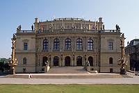 Rudolfinum (Dum Umelcu), Prag, Tschechien, Unesco-Weltkulturerbe