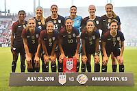 USWNT vs Costa Rica, July 22, 2016