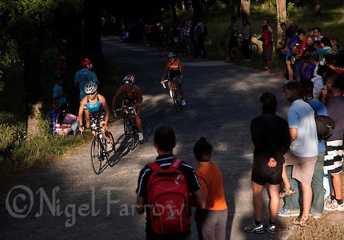 03 JUN 2011 - MADRID, ESP - Spanish Elite Triathlon Championship Qualifier (PHOTO (C) NIGEL FARROW)