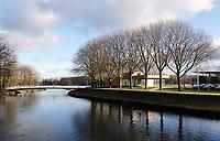 Nederland  Amsterdam   08- 01- 2021. Ruimte in Nieuw-West. Osdorp. Sloterplas.    Foto : ANP/ HH / Berlinda van Dam