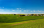 The historic town of Farmington lies at the heart of Washington State's Palouse country.