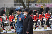 Nov 11, 2012 - Montreal, Quebec, CANADA -  Remembrance Day - Pierre Duchesne, Lieutenant Governor of Quebec