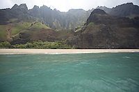 Kalalau Beach on Kauai's Na Pali coast