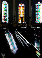 ADAMSON UNI, A Manila Church light streaming through the windows, near Adamson University