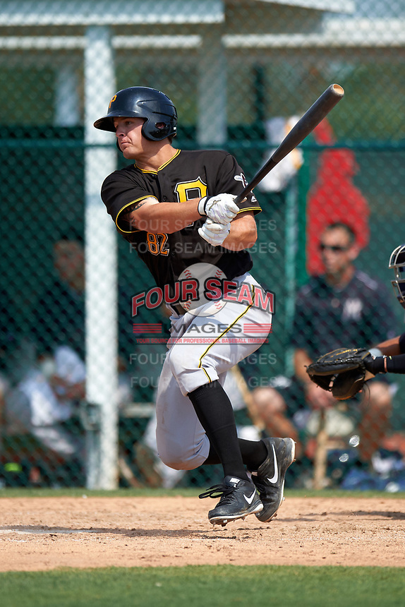 Pittsburgh Pirates Jerrick Suiter (82) during a minor league Spring Training game against the New York Yankees on March 26, 2016 at Pirate City in Bradenton, Florida.  (Mike Janes/Four Seam Images)