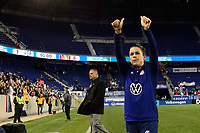 HARRISON, NJ - MARCH 08: Kelley O'Hara #5 of the United States during a game between Spain and USWNT at Red Bull Arena on March 08, 2020 in Harrison, New Jersey.