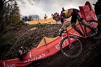 Belgian National Champion Laurens Sweeck (BEL/Pauwels Sauzen-Bingoal)<br /> <br /> Jaarmarktcross Niel (BEL) 2020<br /> Men's Race<br /> <br /> ©kramon