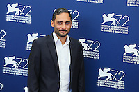 Piero Messina attends the photocall for the movie 'The Wait' during 72nd Venice Film Festival at the Palazzo Del Cinema, in Venice, Italy, September 5, 2015. <br /> UPDATE IMAGES PRESS/Stephen Richie